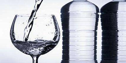 drinking alkaline water at Bella Reina Spa