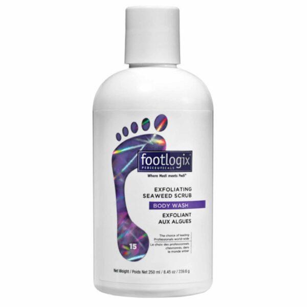 Footlogix Exfoliating Seawedd Scrub Body Wash