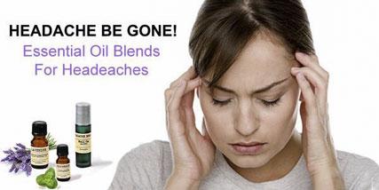 essential oil blend for headaches