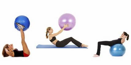 stability ball exercises to strengthen your core