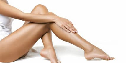 leaner legs at Bella Reina Spa