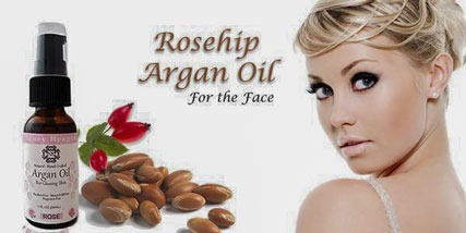 argan oil for the face at Bella Reina Spa