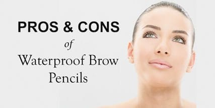 waterproof eyebrow pencil at Bella Reina Spa