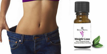 Weight loss essential oil blends at Bella Reina Spa