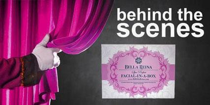 facial in a box at Bella Reina Spa