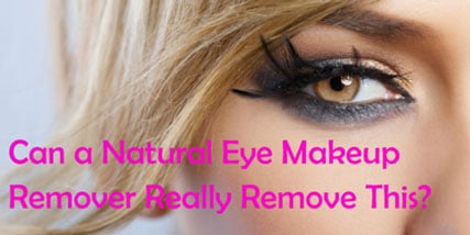 Natural eye makeup remover at Bella Reina Spa