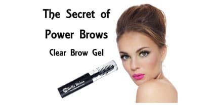 clear brow gel at Bella Reina Spa