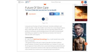 future of skincare article