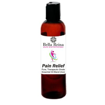 Pain Relief Aromatherapy Body Oil By Bella Reina (4oz)