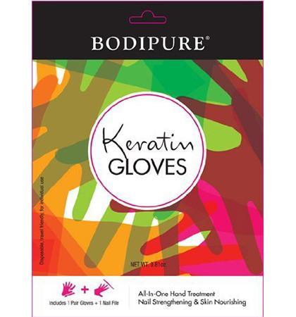 Bodipure Moisturizing Keratin Gloves Hand and Nail Treatment