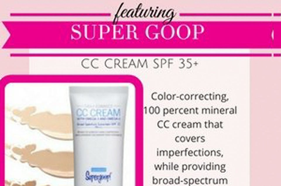 Fall in Love with SuperGOOP CC Cream for the Summer