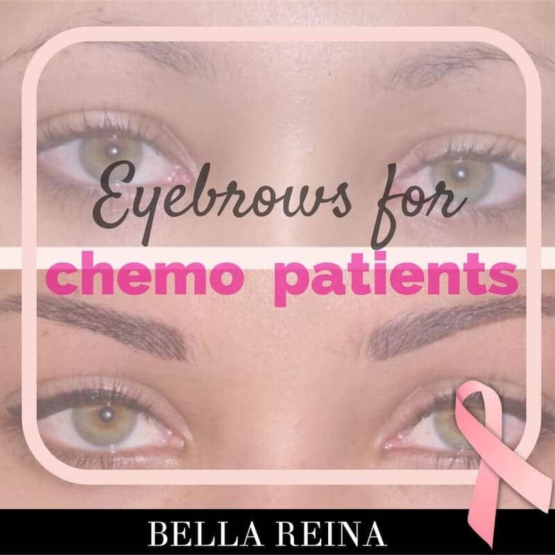 Bella PINK Alert: Eyebrows for Chemo Patients