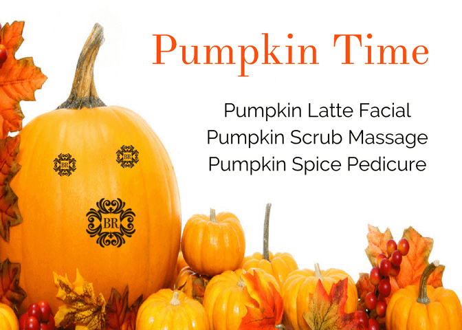 "Pumpkin Spa Treatment – A ""Bewitching"" Time"