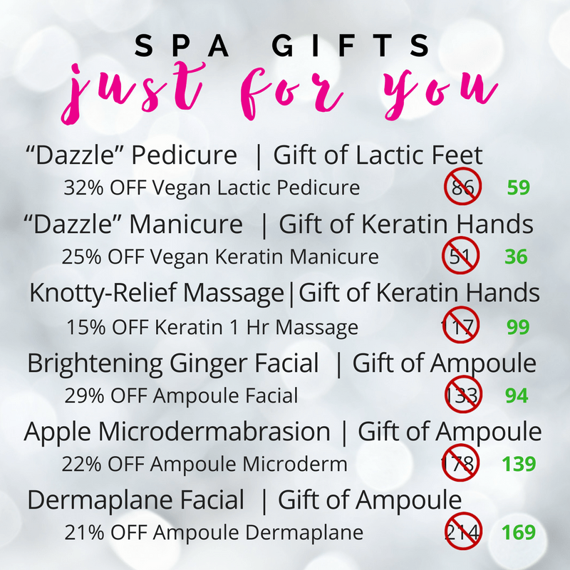 spa deals just for you