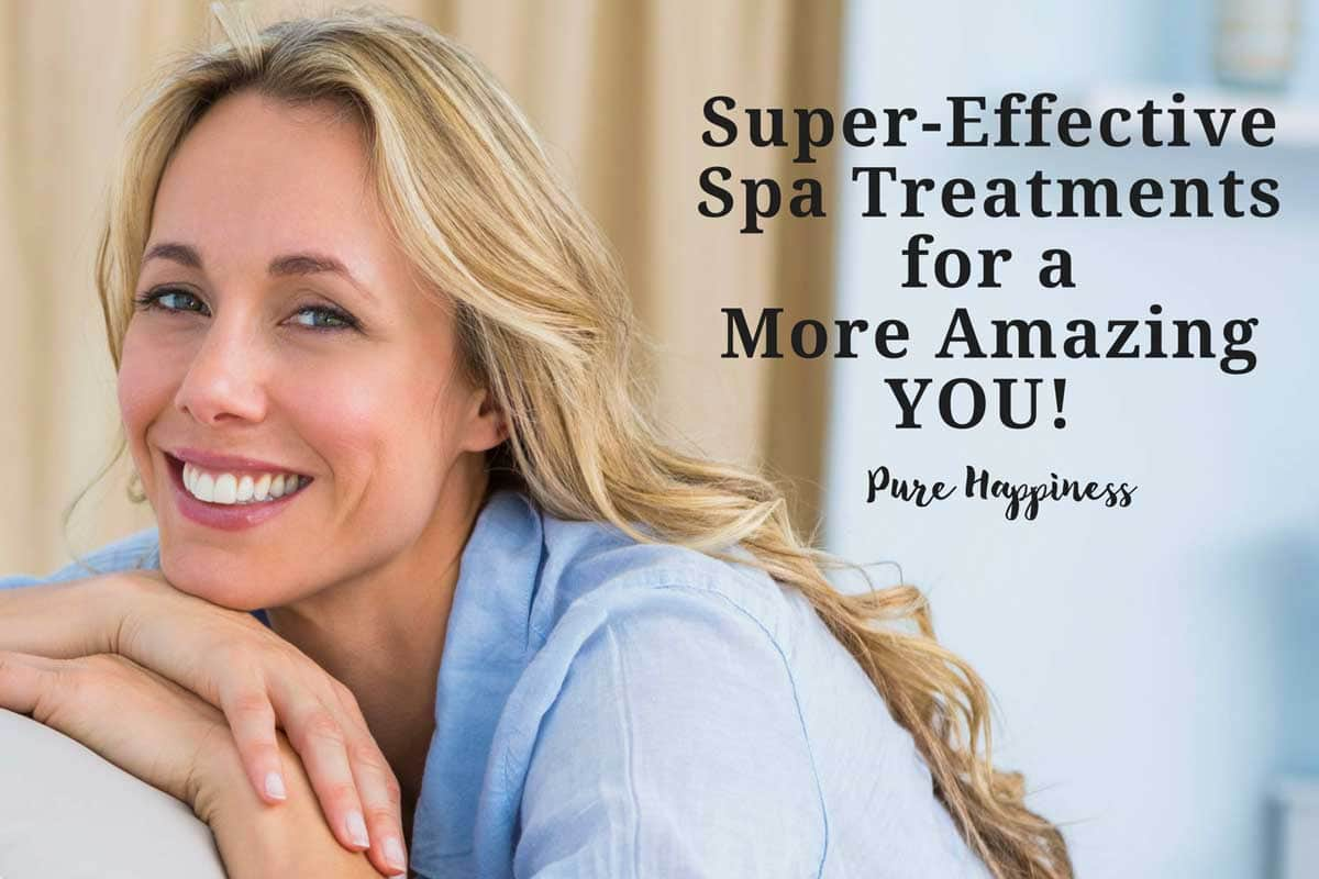 Super effective spa treatments for a more amazing you.