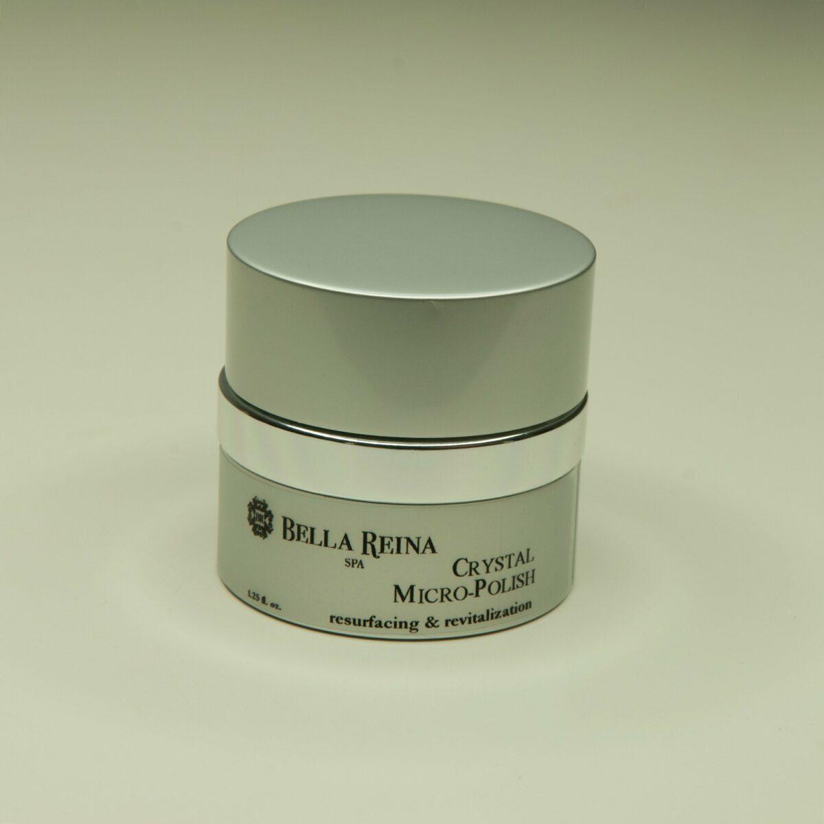 Bella Reina Skincare Facial Crystal Micro-Polish Scrub & Mask - 1.25oz