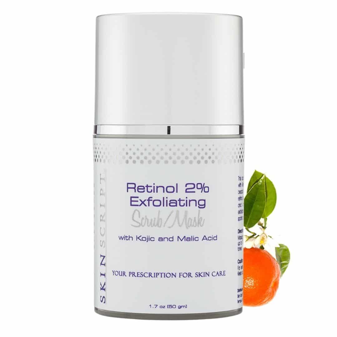 Skin Script Retinol 2% Exfoliating Scrub_Mask