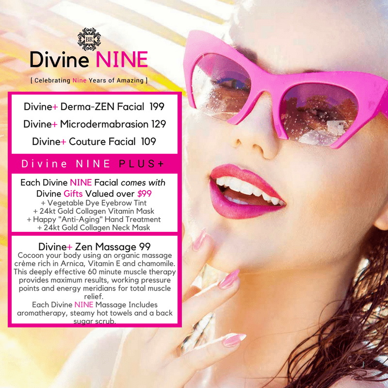 Divine Nine Spa Anniversary