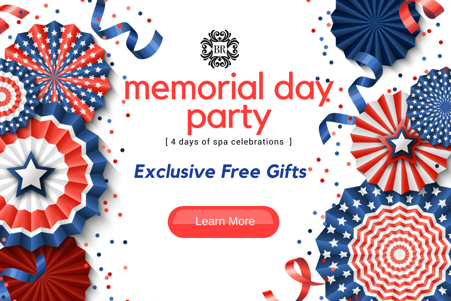 Memorial Day Spa Celebration