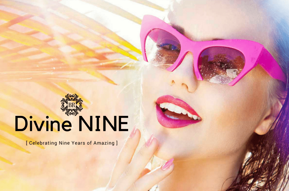 Divine Nine - Yes, Celebrating our 9th Spa Anniversary