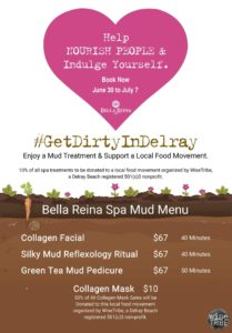 Get Dirty Delray with Mud Treatments for International Mud Day 1