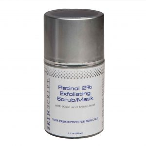 Retinol Exfoliating Scrub Mask (Physical & Chemical)