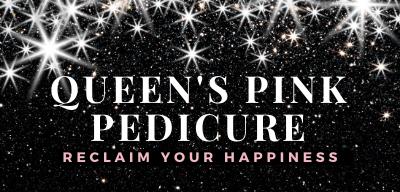 Queens Pink Pedicure