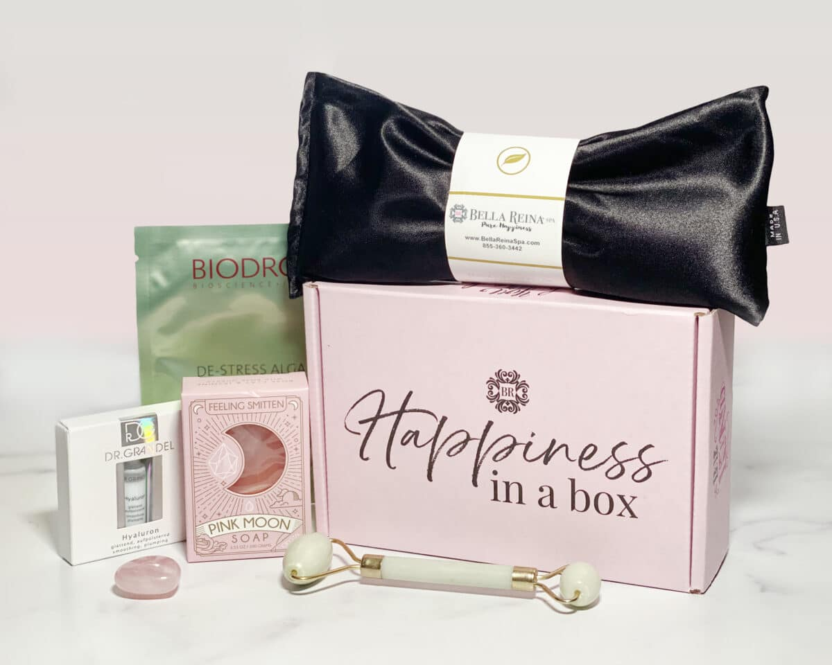 Happiness in a Box Spa Gift Box