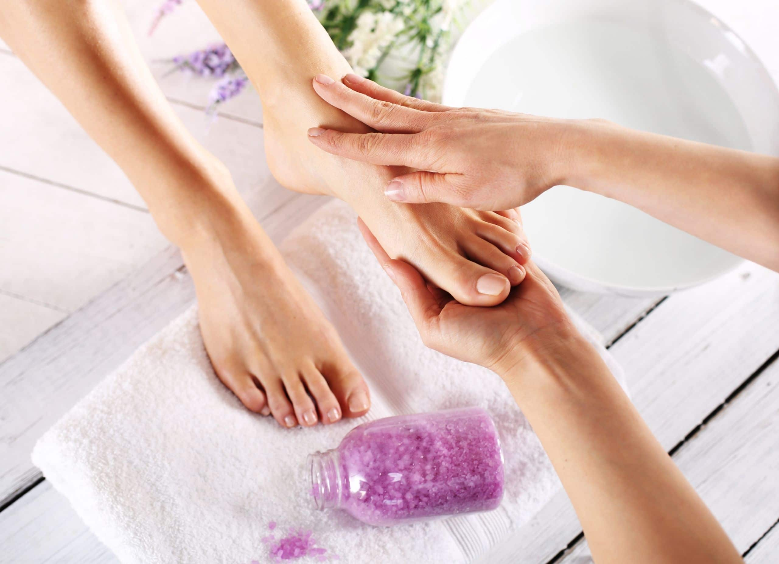 Lavender Relaxing pedicure
