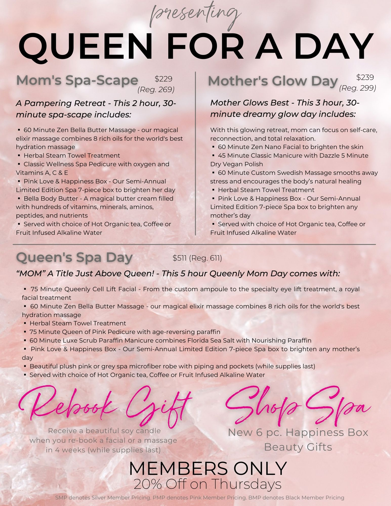 May Specials Queen for a Day